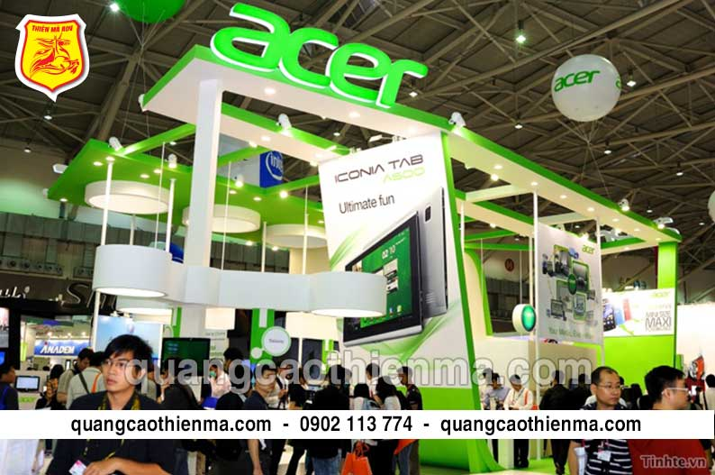 Sản xuất Booth Activation Acer
